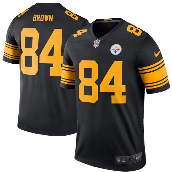 お取り寄せ NFL スティーラーズ アントニオ・ブラウン ユニフォーム/ジャージ カラーラッシュ レジェンド ナイキ/Nike ブラック