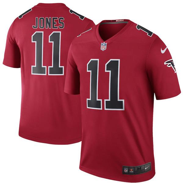 お取り寄せ NFL ファルコンズ フリオ・ジョーンズ ユニフォーム/ジャージ カラーラッシュ レジェンド ナイキ/Nike レッド