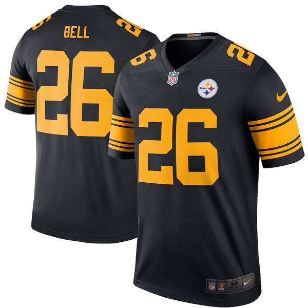 お取り寄せ NFL スティーラーズ レビオン・ベル ユニフォーム/ジャージ カラーラッシュ レジェンド ナイキ/Nike ブラック
