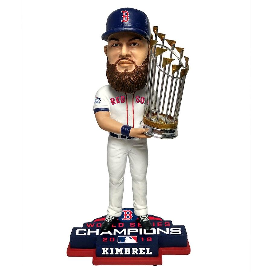お取り寄せ MLB レッドソックス クレイグ・キンブレル フィギュア 2018 ワールドチャンピオン記念 プレーヤー