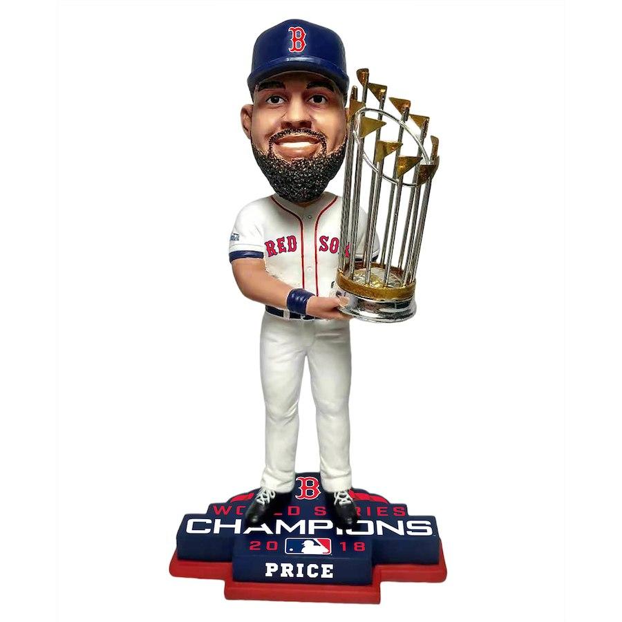 お取り寄せ MLB レッドソックス デビット・プライス フィギュア 2018 ワールドチャンピオン記念 プレーヤー