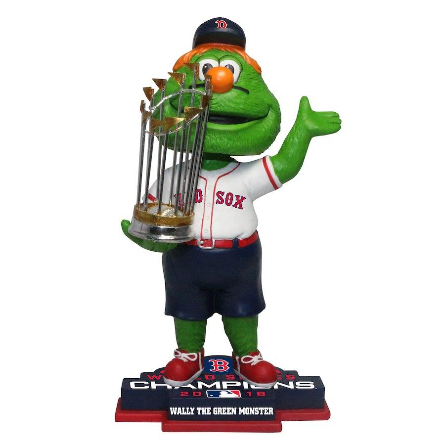 お取り寄せ MLB レッドソックス フィギュア 2018 ワールドチャンピオン記念 マスコット