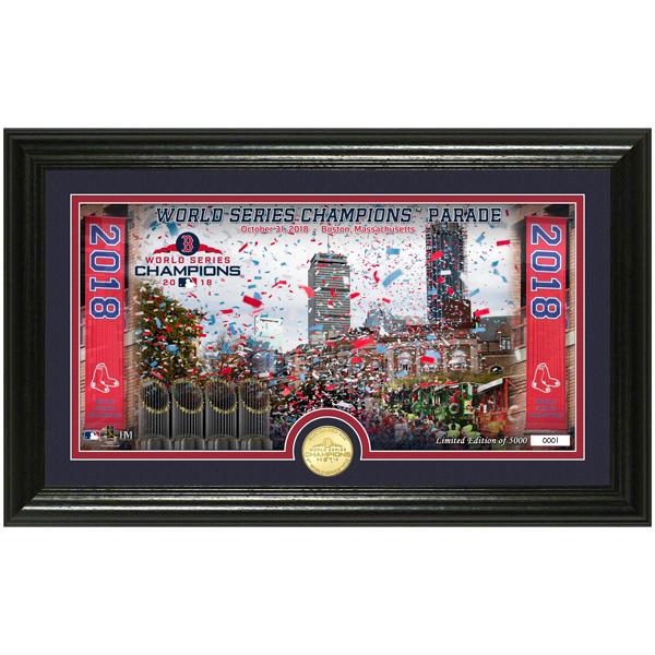 お取り寄せ MLB レッドソックス 2018 ワールドチャンピオン記念 パレード コイン フォトミント The Highland Mint