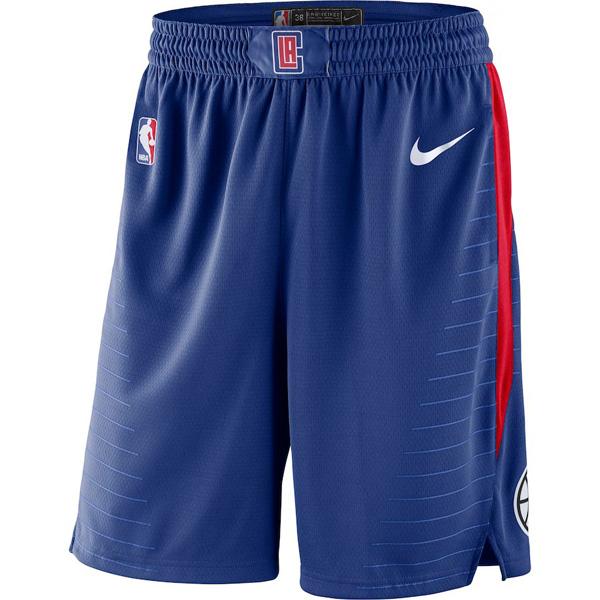 お取り寄せ NBA クリッパーズ ショートパンツ/ショーツ スウィングマン ナイキ/Nike ロイヤル