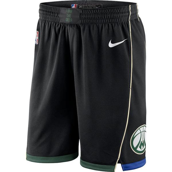 お取り寄せ NBA バックス ショートパンツ/ショーツ スウィングマン ステートメント・エディション 2018/19 ナイキ/Nike