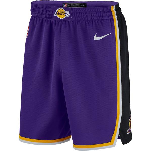 お取り寄せ NBA レイカーズ ショートパンツ/ショーツ スウィングマン ステートメント・エディション 2018/19 ナイキ/Nike