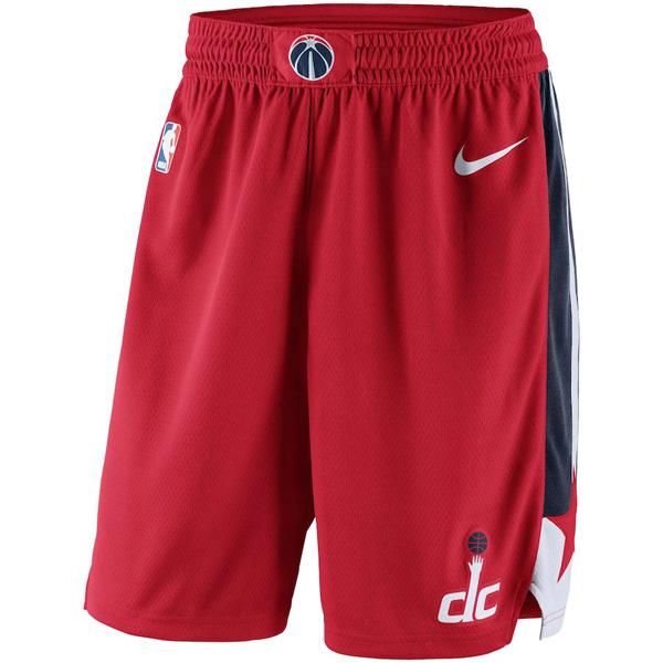 お取り寄せ NBA ウィザーズ ショートパンツ/ショーツ スウィングマン バスケットボール アイコン ナイキ/Nike レッド