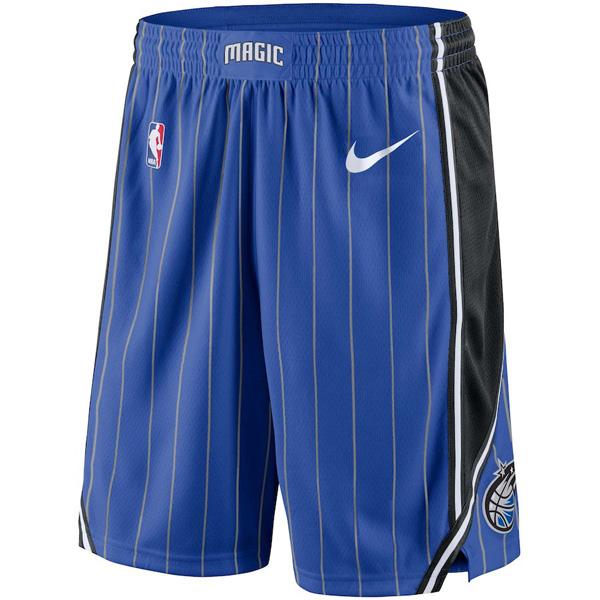お取り寄せ NBA マジック ショートパンツ/ショーツ スウィングマン バスケットボール アイコン ナイキ/Nike ロイヤル