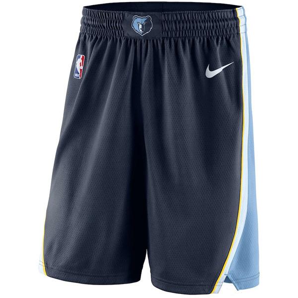 お取り寄せ NBA グリズリーズ ショートパンツ/ショーツ スウィングマン バスケットボール アイコン ナイキ/Nike ネイビー
