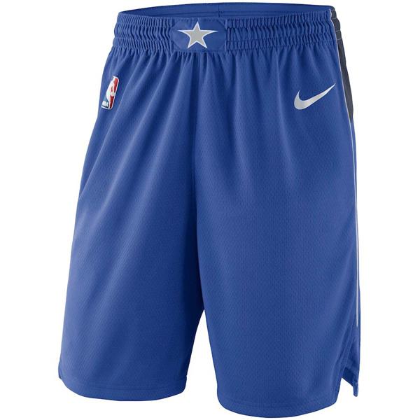 お取り寄せ NBA マーベリックス ショートパンツ/ショーツ スウィングマン バスケットボール アイコン ナイキ/Nike ロイヤル