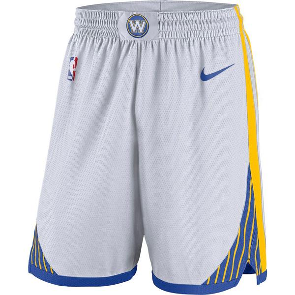 お取り寄せ NBA ウォリアーズ ショートパンツ/ショーツ スウィングマン アソシエーション パフォーマンス ナイキ/Nike
