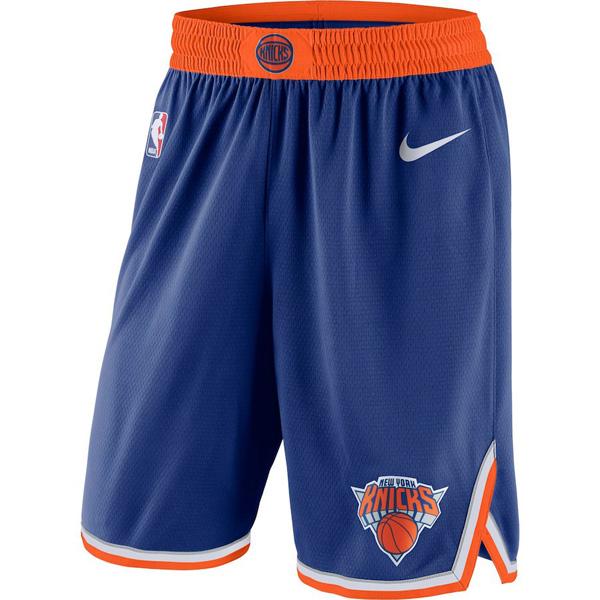 お取り寄せ NBA ニックス ショートパンツ/ショーツ スウィングマン バスケットボール アイコン ナイキ/Nike ブルー
