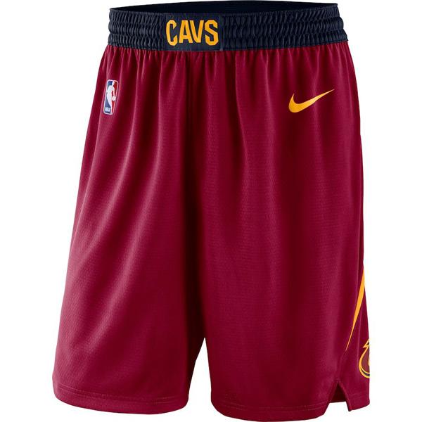 お取り寄せ NBA キャバリアーズ ショートパンツ/ショーツ スウィングマン バスケットボール アイコン ナイキ/Nike ワイン