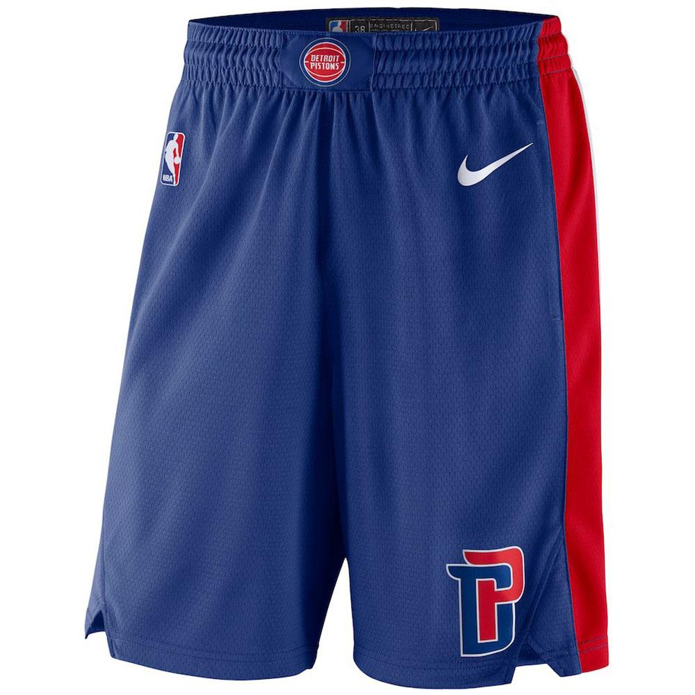 NBA ピストンズ ショートパンツ/ショーツ スウィング バスケットボール ショーツ ナイキ/Nike ブルー 866805-495