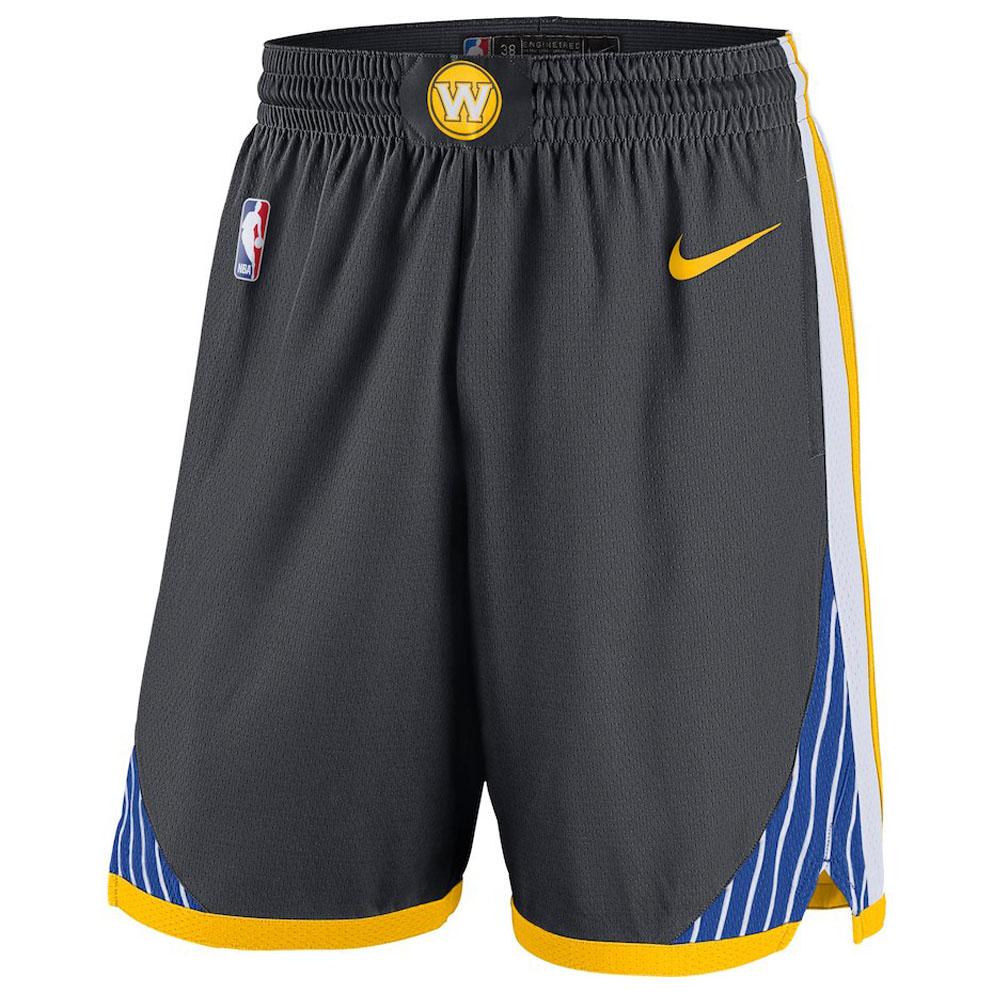 NBA ウォリアーズ ショートパンツ/ショーツ スウィング バスケットボール ショーツ ナイキ/Nike グレー 879968-060