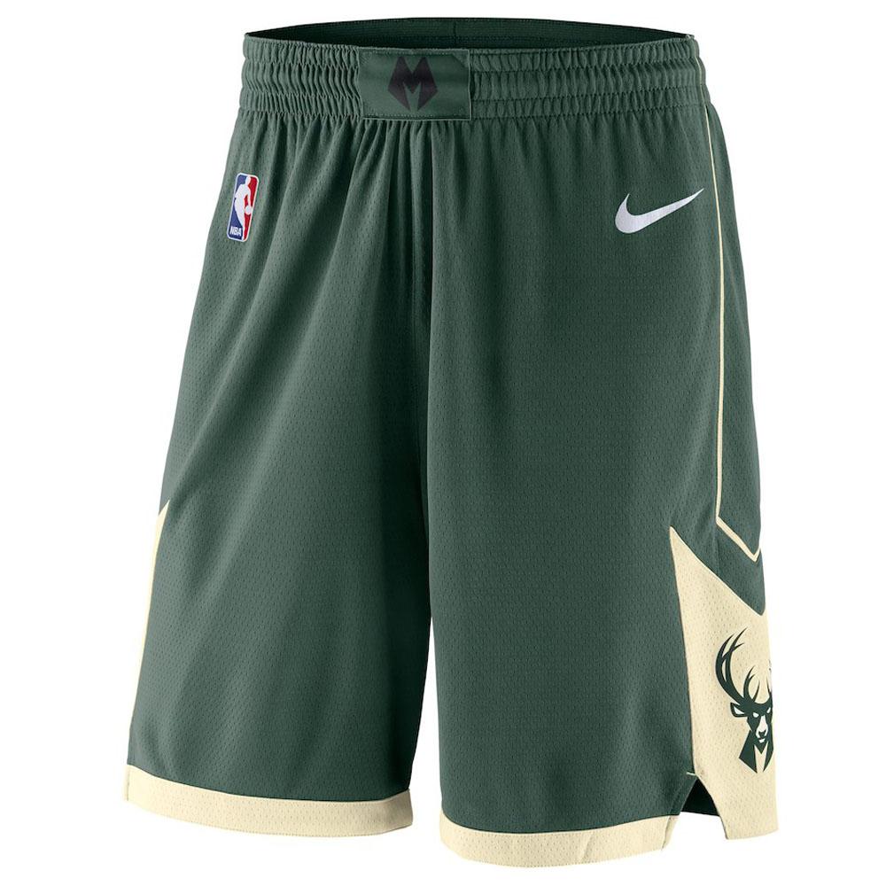 NBA バックス ショートパンツ/ショーツ スウィング バスケットボール ショーツ ナイキ/Nike グリーン 866837-323