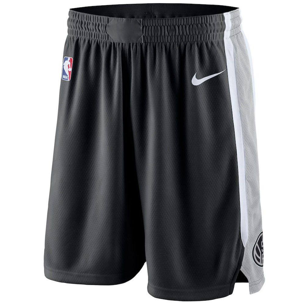 NBA スパーズ ショートパンツ/ショーツ スウィング バスケットボール ショーツ ナイキ/Nike ブラック 866877-010