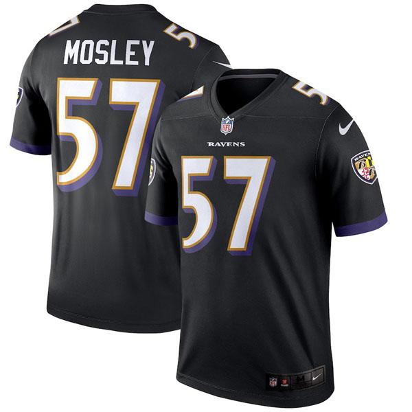 お取り寄せ NFL レイブンズ C. J・モズリー ユニフォーム/ジャージ レジェンド ナイキ/Nike ブラック