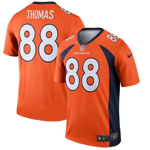 お取り寄せ NFL ブロンコス デマリアス・トーマス ユニフォーム/ジャージ レジェンド ナイキ/Nike オレンジ