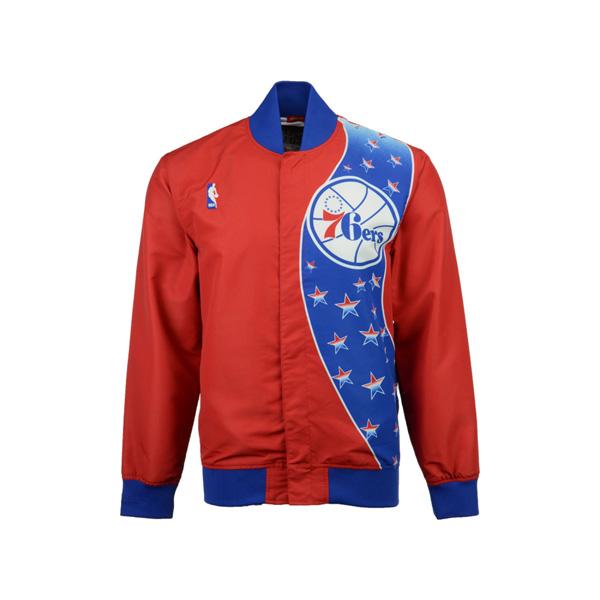 熱販売 お取り寄せ NBA 76ers ジャケット/アウター オーセンティック Ness ウォームアップ Mitchell Mitchell & 76ers Ness レッド, ホッチポッチ自由が丘 WEB shop:d21a3b73 --- canoncity.azurewebsites.net