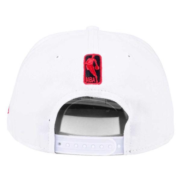meet 30453 07028 ... NBA Hawks cap   hat solid alternate snapback new gills  New Era white  ...