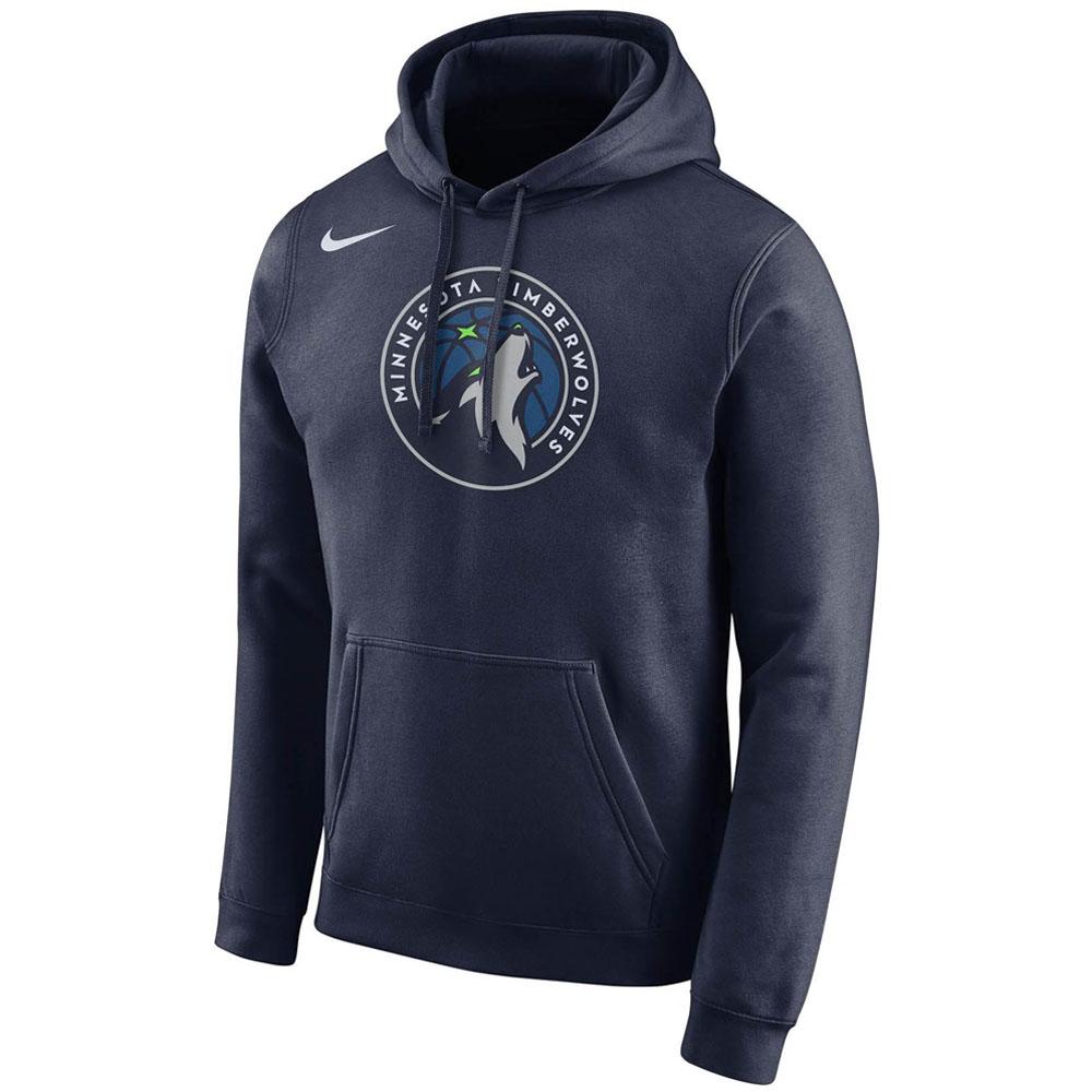 NBA ティンバーウルブズ パーカー/フーディー プルオーバー ナイキ/Nike ネイビー AA3679-419