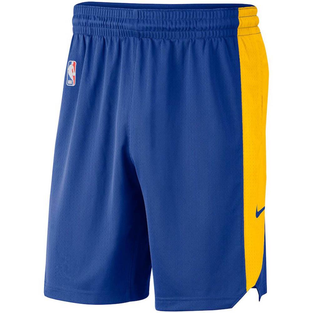 NBA ウォリアーズ ショートパンツ/ショーツ パフォーマンス プラクティス ナイキ/Nike ブルー
