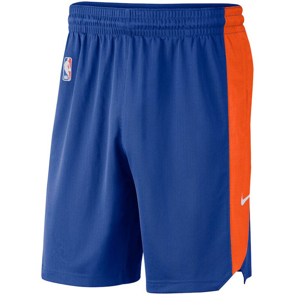 NBA ニックス ショートパンツ/ショーツ パフォーマンス プラクティス ナイキ/Nike ブルー