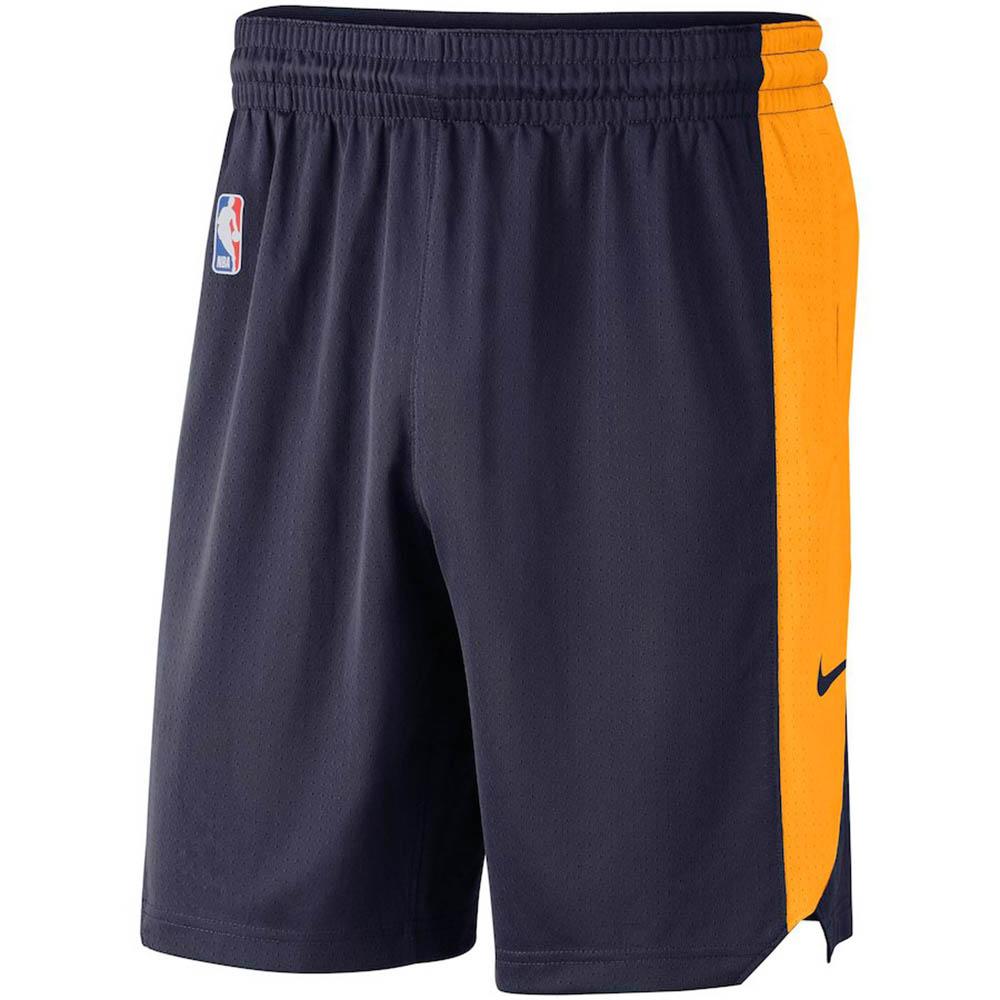 NBA ジャズ ショートパンツ/ショーツ パフォーマンス プラクティス ナイキ/Nike ネイビー