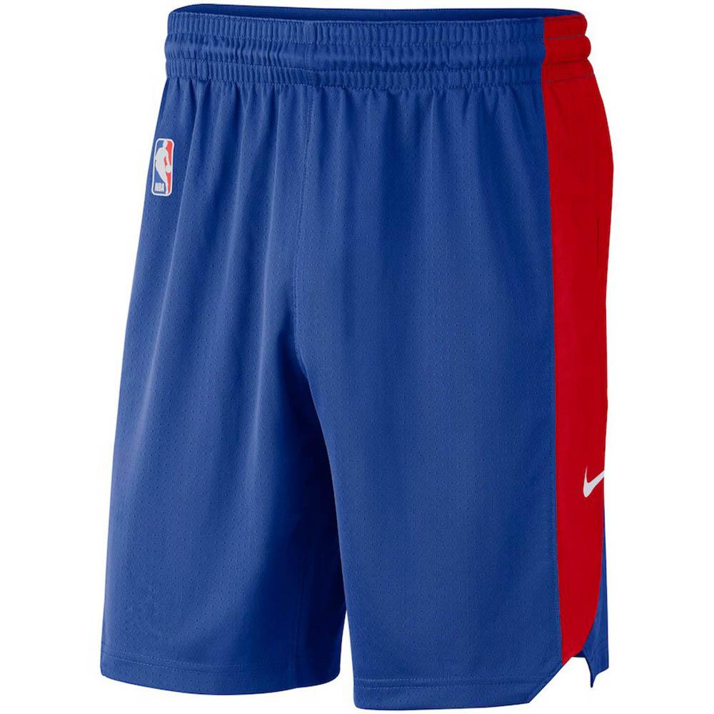 NBA ピストンズ ショートパンツ/ショーツ パフォーマンス プラクティス ナイキ/Nike ブルー