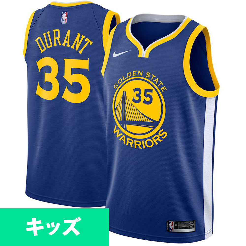 low priced 7557b 945d5 NBA Warriors Kevin Durant uniform / jersey use swing man icon edition Nike  /Nike royal
