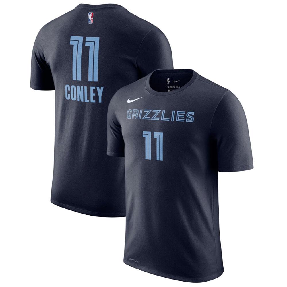 NBA Tシャツ グリズリーズ マイク・コンリー ネーム&ナンバー パフォーマンス ナイキ/Nike ネイビー AR4890-420 トレーニング特集