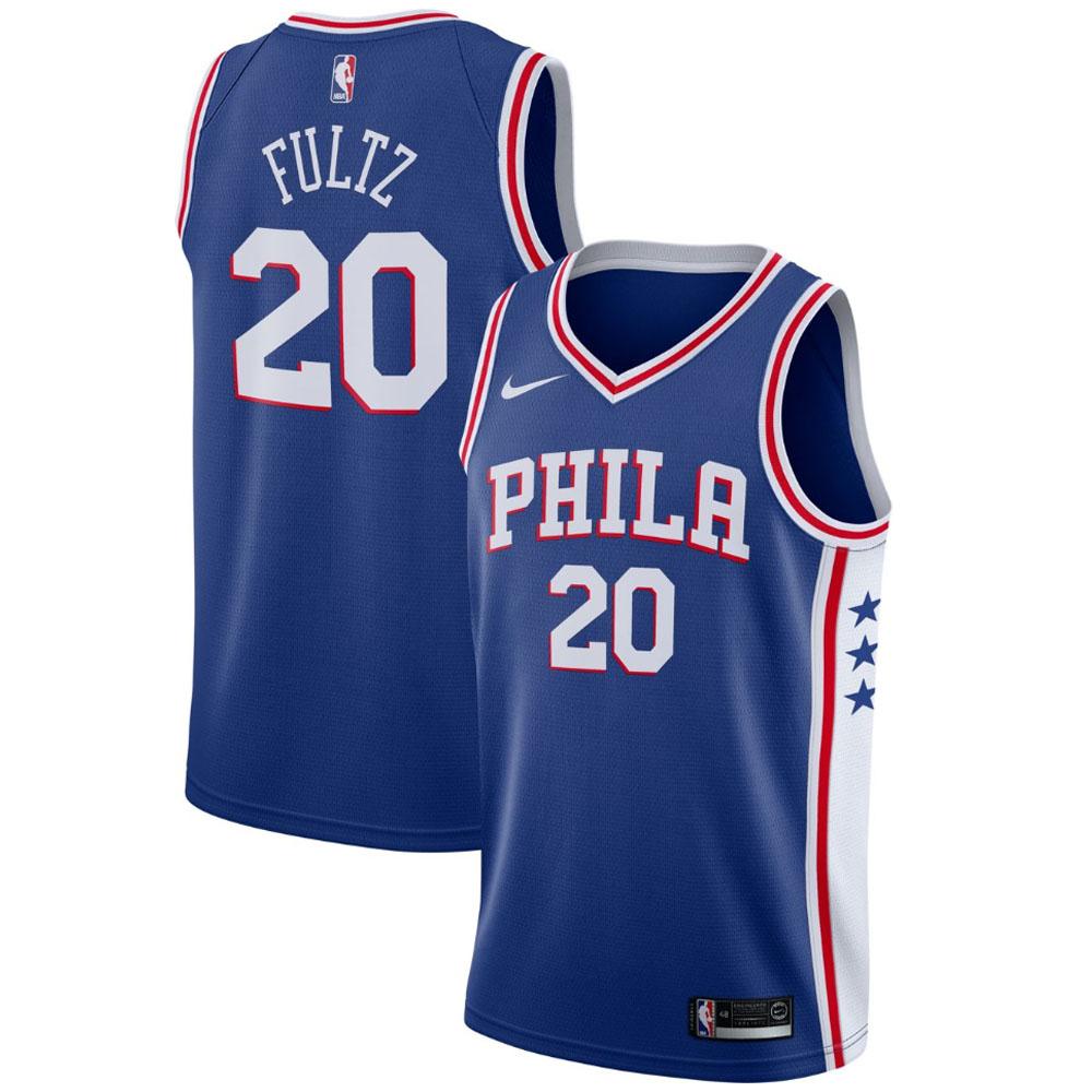 NBA 76ers マーケル・フルツ ユニフォーム/ジャージ スウィングマン ナイキ/Nike ブルー 864501-400