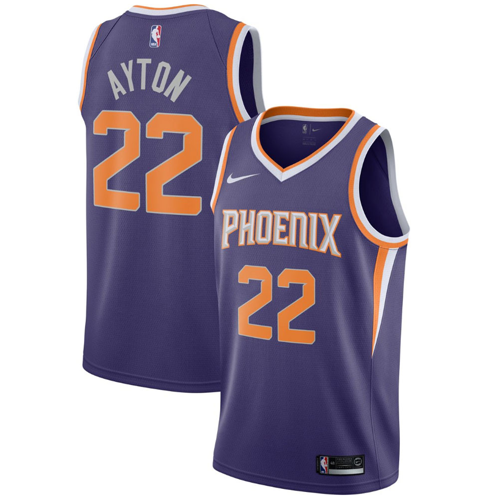 NBA サンズ ディアンドレ・エイトン ユニフォーム/ジャージ スウィングマン ナイキ/Nike パープル 864503-573