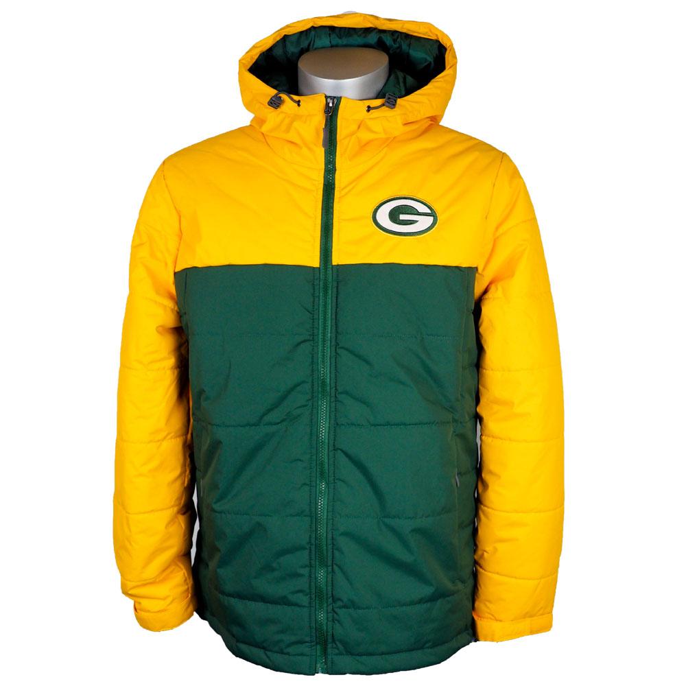 timeless design 8a01c 0b5b4 NFL Packers jacket / アウターエクスプロレーションポリフィルフーディ / hooded parka G-III