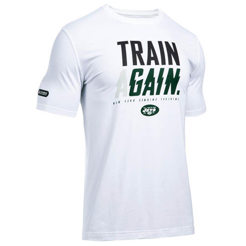 NFL ジェッツ Tシャツ オーセンティック バーベージ アンダーアーマー/UNDER ARMOUR ホワイト【1910価格変更】