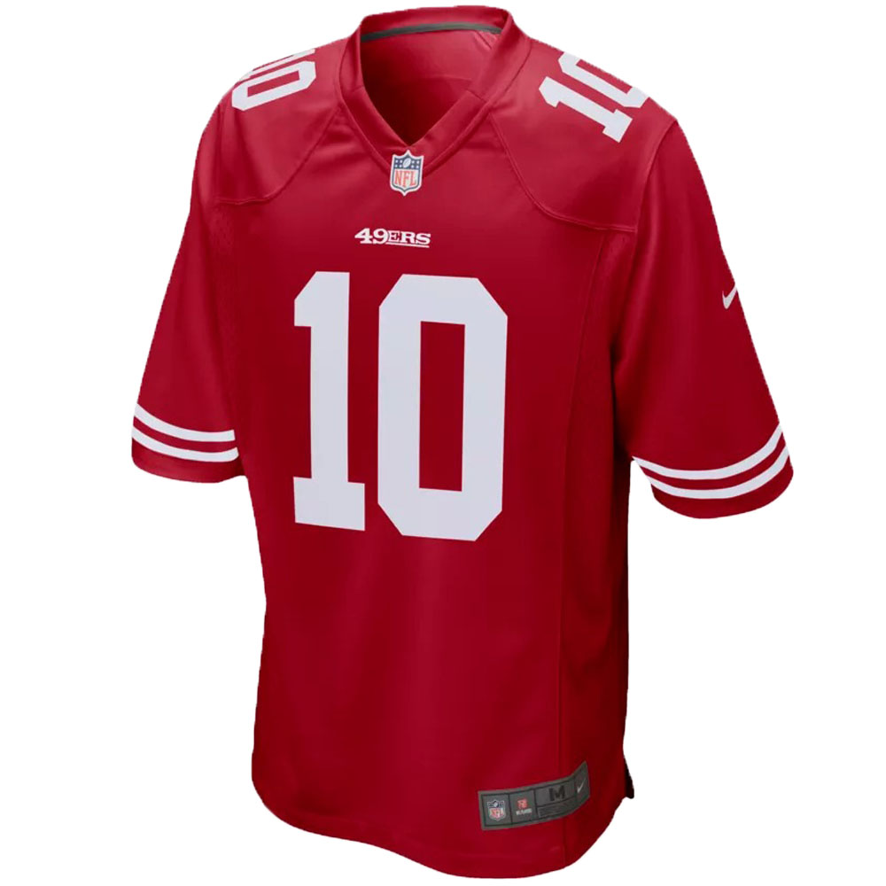 NFL 49ers ジミー・ガロポロ ユニフォーム/ジャージ ゲーム ジャージ ナイキ/Nike Scarlet