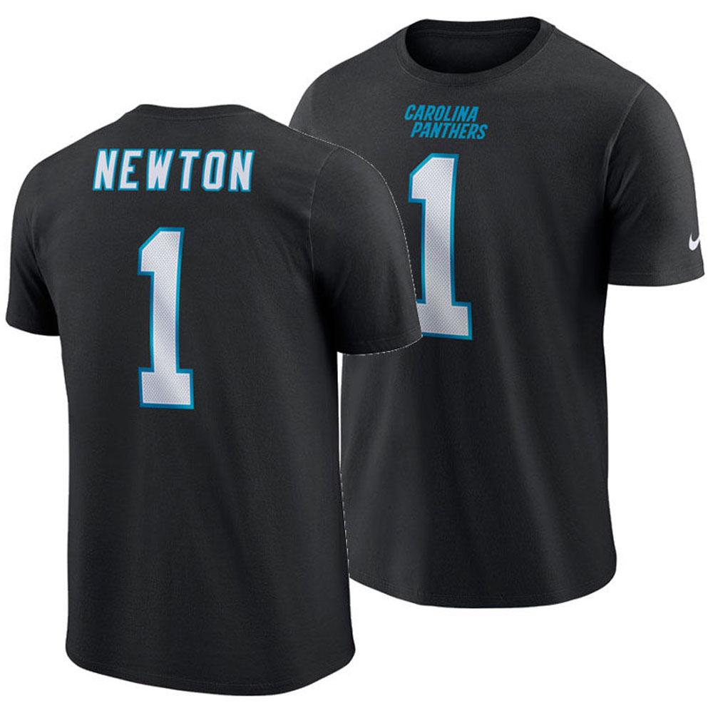 NFL パンサーズ キャム・ニュートン Tシャツ プレイヤー プライド ネーム&ナンバー ナイキ/Nike ブラック【1910価格変更】