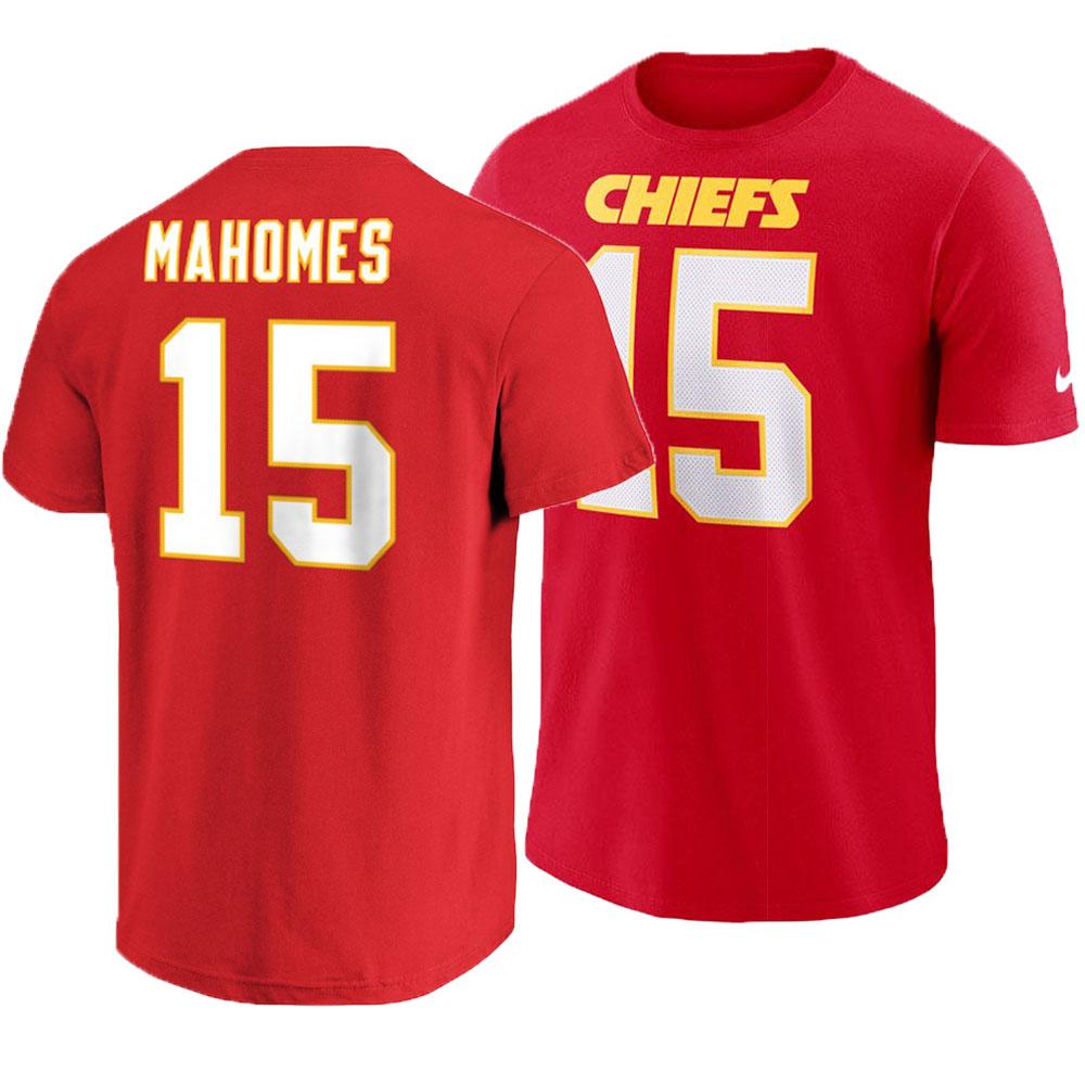 NFL チーフス パトリック・マホームズ Tシャツ プレイヤー プライド ネーム&ナンバー ナイキ/Nike レッド【1910価格変更】