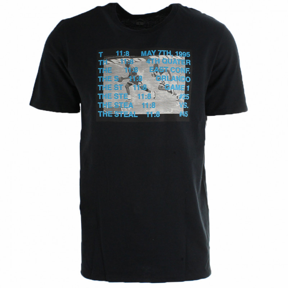 <title>ジョーダンヒストリーをデザイン AJ10 Tシャツ 国産品 ジョーダン JORDAN レガシー エアジョーダン10 ブラック BQ0228-010</title>