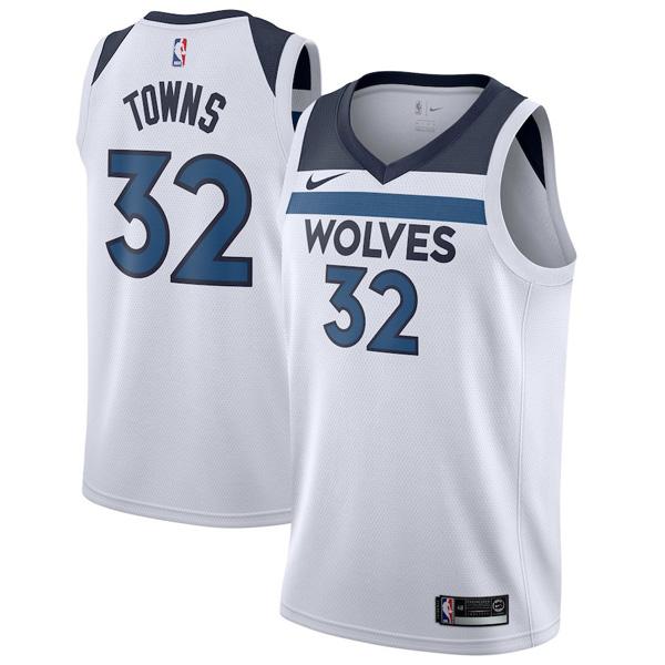 NBA ティンバーウルブズ カール=アンソニー・タウンズ ユニフォーム スウィングマン アソシエーション・エディション