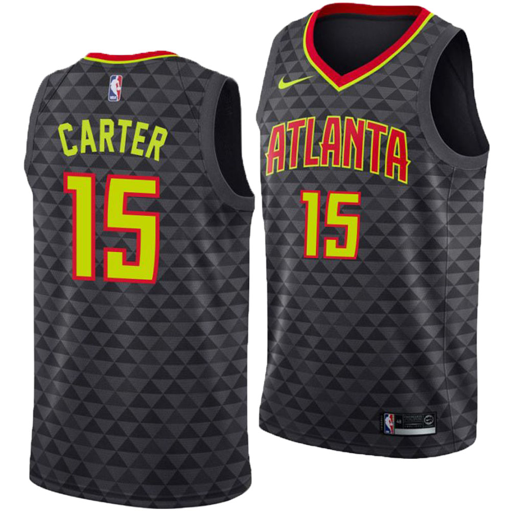 finest selection e15fb 611b5 NBA Hawks Vince Carter uniform / jersey swing man icon edition Nike /Nike  black