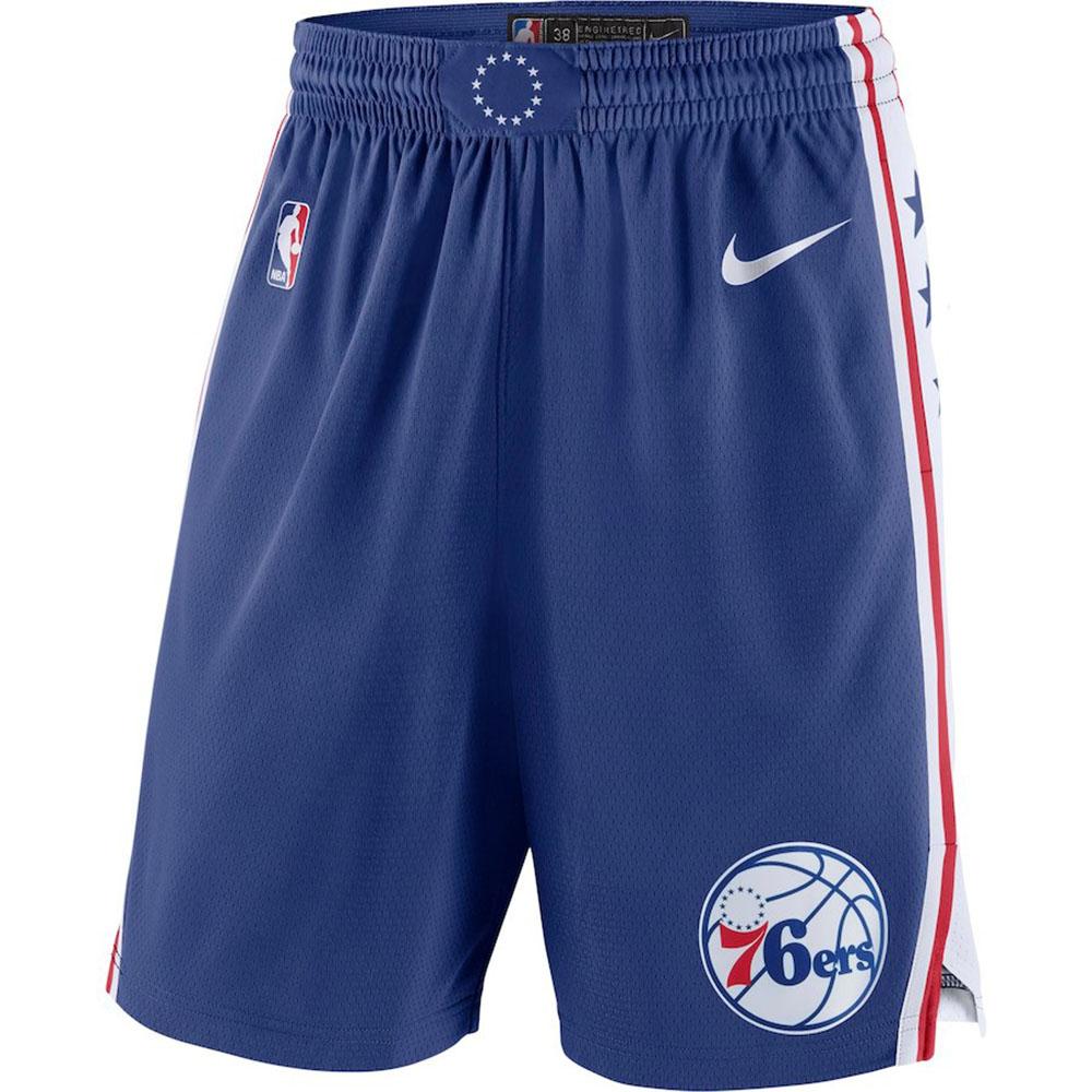 NBA 76ers ショートパンツ/ショーツ スウィングマン アイコン・エディション ナイキ/Nike ブルー