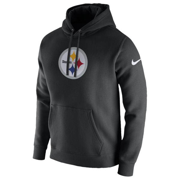 NFL スティーラーズ パーカー/フーディー プルオーバー フリース クラブ フーディ ナイキ/Nike ブラック
