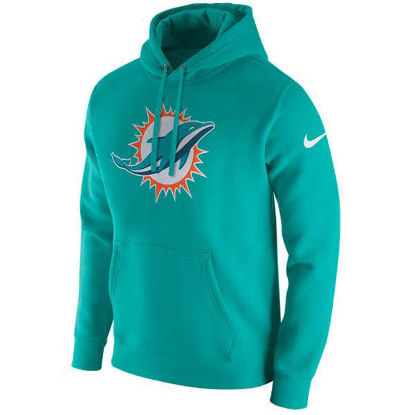 NFL ドルフィンズ パーカー/フーディー プルオーバー フリース クラブ フーディ ナイキ/Nike グリーン