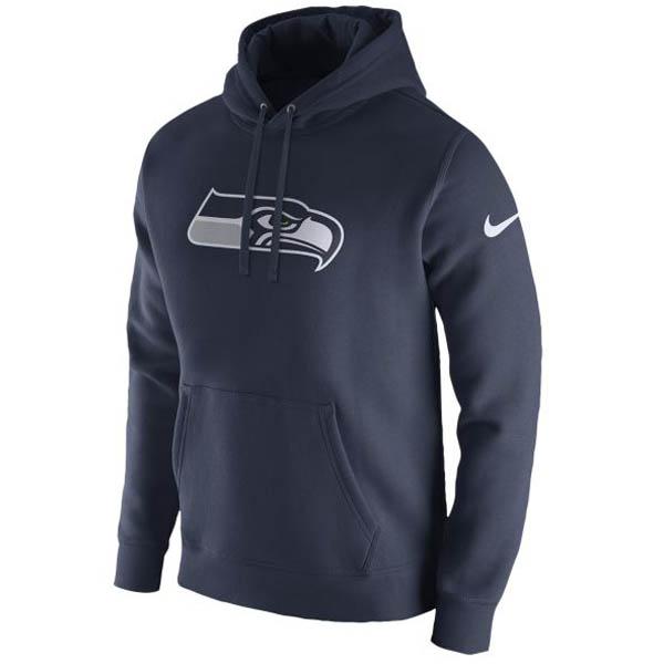 お取り寄せ NFL シーホークス パーカー/フーディー プルオーバー フリース クラブ フーディ ナイキ/Nike ネイビー
