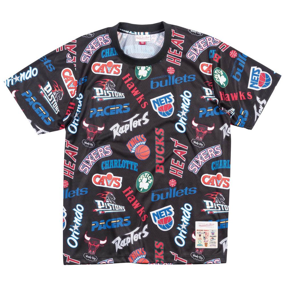 NBA Tシャツ オールオーバー イースタン メッシュ ミッチェル&ネス/Mitchell & Ness ブラック