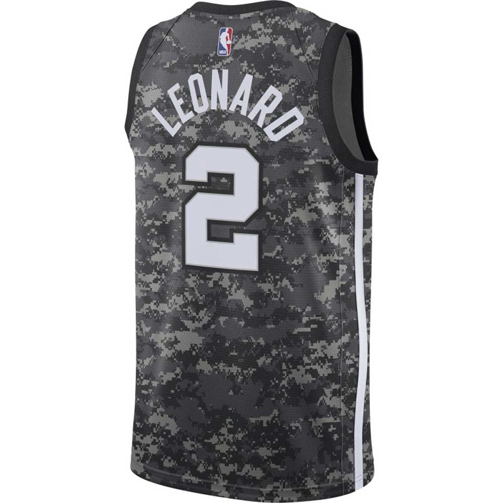 67f70fcaef6 NBA Spurs Kawai Leonard uniform / jersey swing man city edition camo Nike / Nike 912,153 ...