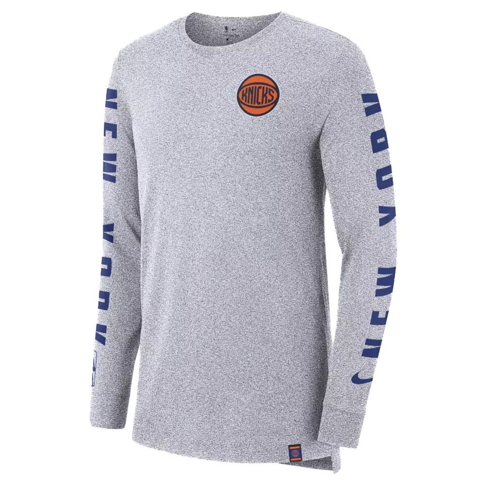 f4eaead9c NBA Knicks T-shirt city edition Longus Reeve long sleeves men Nike  Nike  939