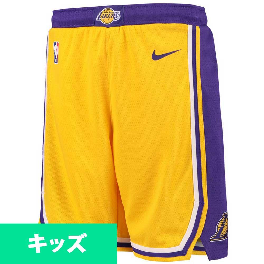 ec6c11d7 NBA Lakers short pants / shorts use icon edition swing manno smart /Nike  yellow